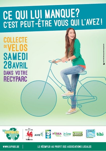 2018   Affiche vélos