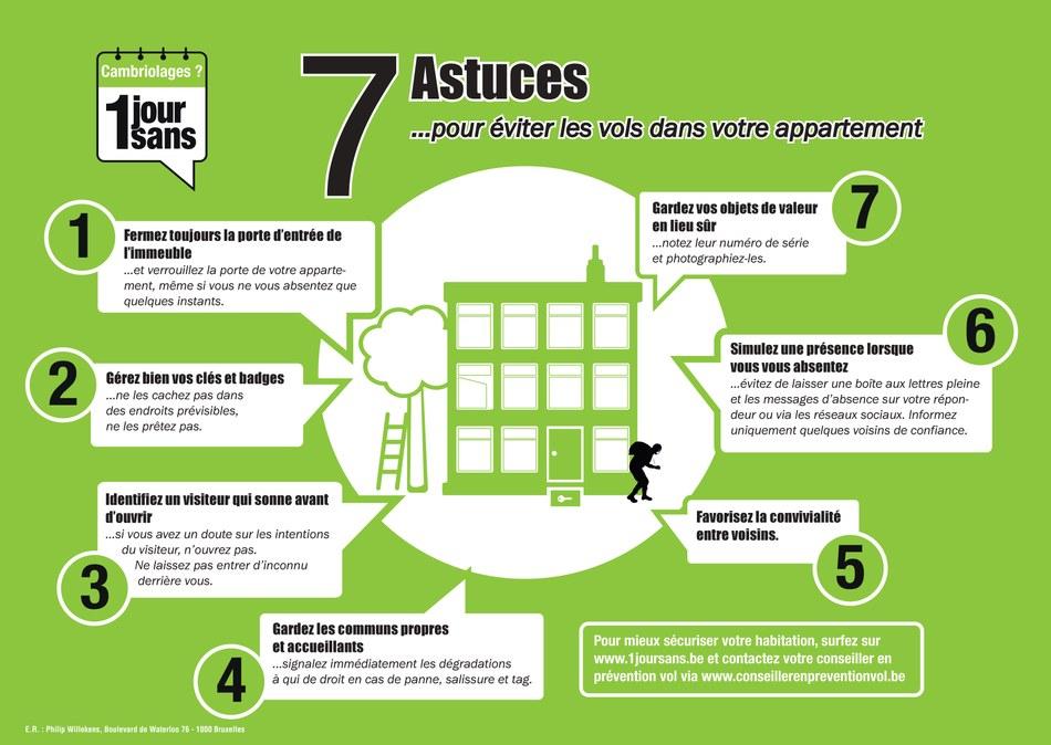 7 astuces appartement