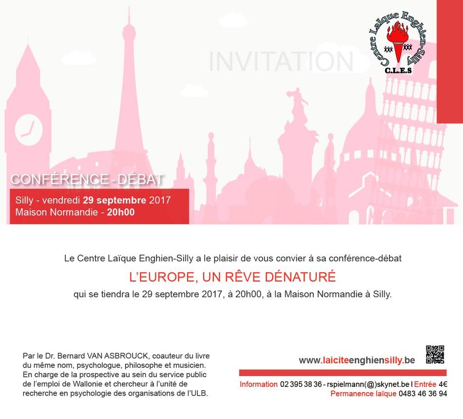 invitation électronique Europe