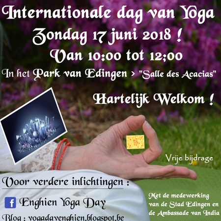 Vierde Internationale Dag van de Yoga